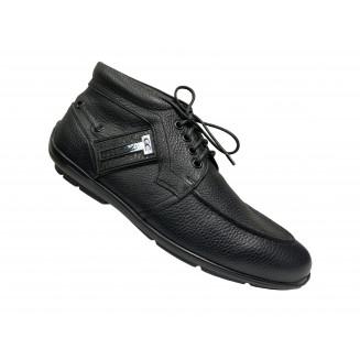 Ботинки мужские Giovanni Ciccioli черные кожаные