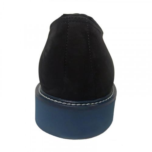 Туфли мужские Gianfranco Butteri тёмно-синего цвета