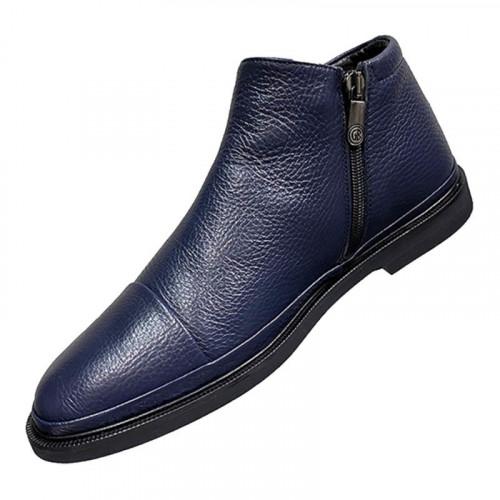 Ботинки мужские Gianfranco Butteri синего цвета