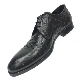 Дерби мужские Giampieronicola черного цвета