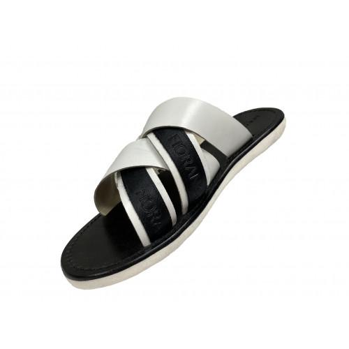 Сабо Fiorangelo черного и белого цвета