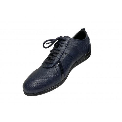 Кроссовки мужские Giovanni Ciccioli синие с серыми вставками