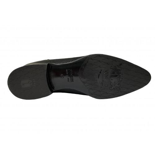 Туфли мужские Vinicio Camerlengo черного цвета