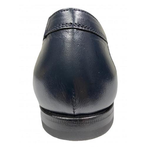 Туфли мужские Franceschetti синего цвета
