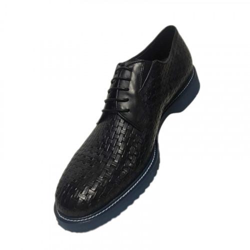 Туфли мужские Gianfranco Butteri темно-синего цвета