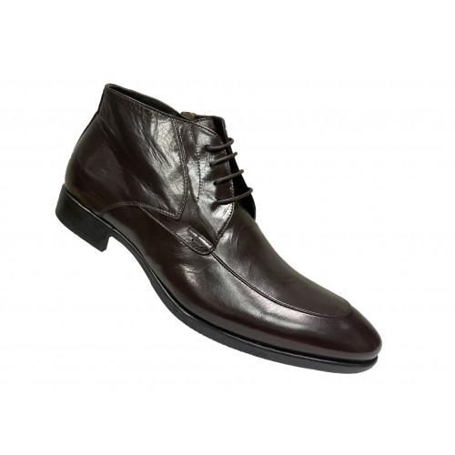 Туфли мужские Vito Della Mora темно-коричневые