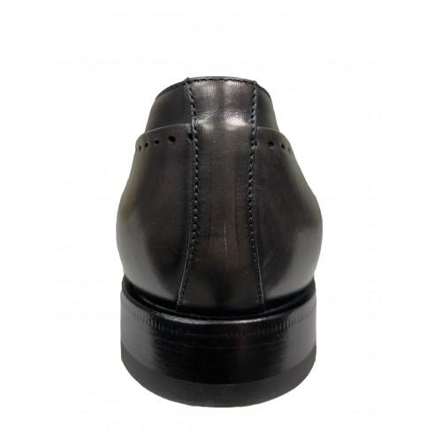Туфли мужские Franceschetti серого цвета