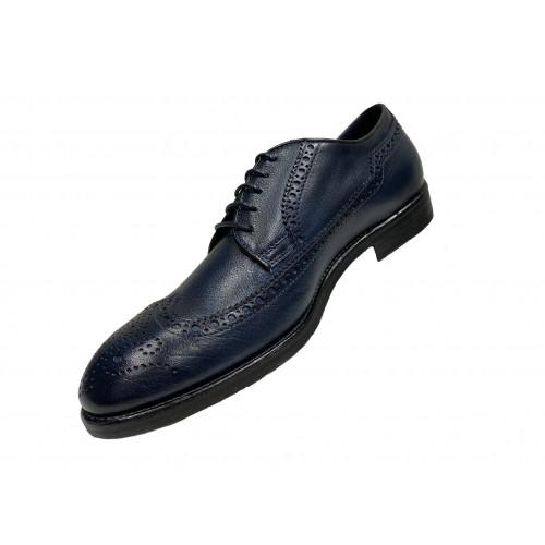 Туфли мужские Giampieronicola темно-синего цвета