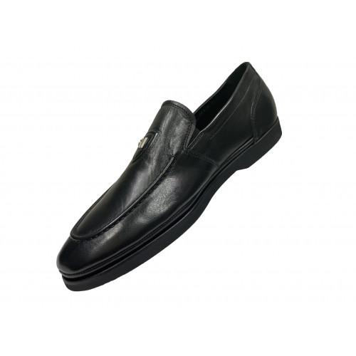 Лоферы мужские Giampieronicola черного цвета