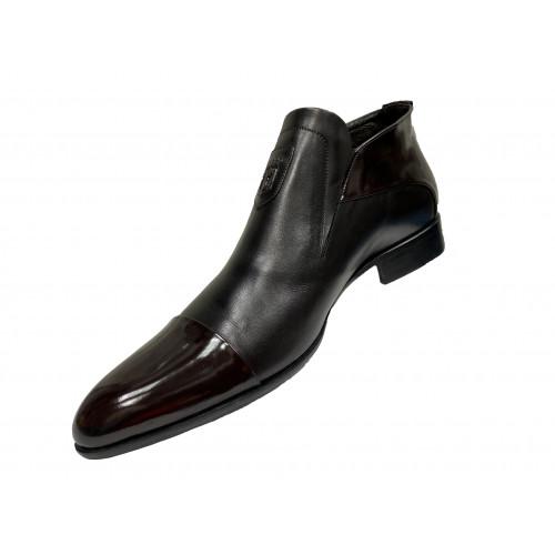 Ботинки мужские Vinicio Camerlengo черные