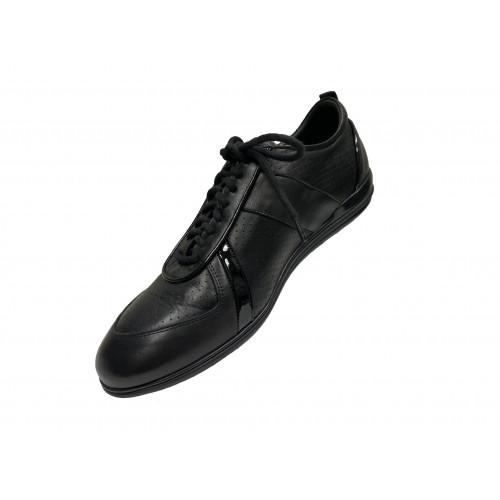 Кроссовки мужские Giovanni Ciccioli черные с серыми вставками