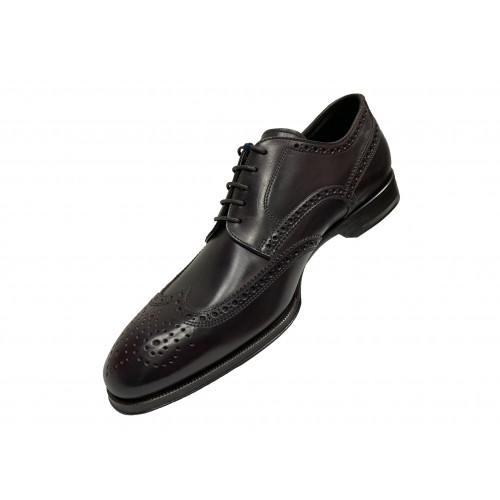 Туфли мужские Franceschetti бордового цвета